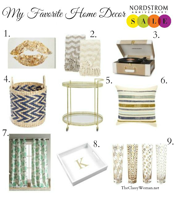 The classy woman home decor favorites from the Nordstrom home decor sale