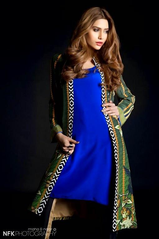 SaniaMaskatiyaPretCollection2014 wwwfashionhuntworldblogspot 7  - Sania Maskatiya Pret Eid Dresses 2014-2015