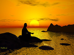 meditation by HaPe_Gera via Flickr and a Creative Commons license