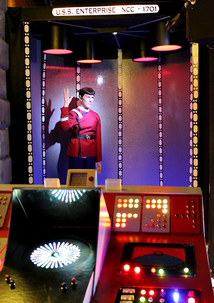 Spock: The Wax Works: Newport, Oregon (Mariner's Square)