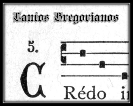 Página de Cantos Gregorianos