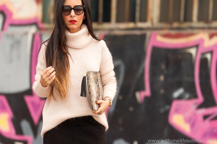 BLogger de moda de Valencia Adicta a los zapatos con look de fiesta ideas para Reyes