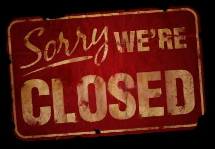 Blog Cerrado
