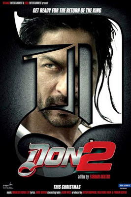 don 2 movie poster, Don 2 (2011) TS Rip 695 MB movie poster, don 2 dvd cover, don 2, don 2 poster