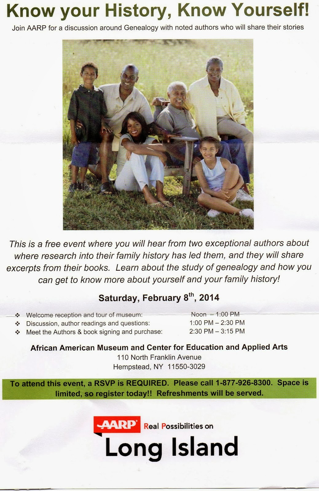 Forever young the life and times of the young family from sc know know your history know yourself aarp long island will host a solutioingenieria Images