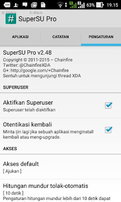 SuperSU Pro Asus Zenfone 4 Lollipop