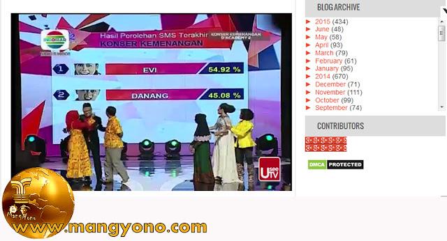Juara ke 1 Dangdut Academy 2 - Evi