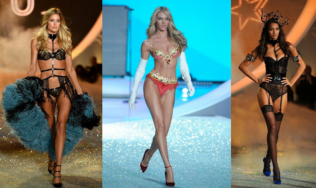 Doutzen Kroes, Candice Swanepoel, Lais Ribeiro, Victoria's Secret