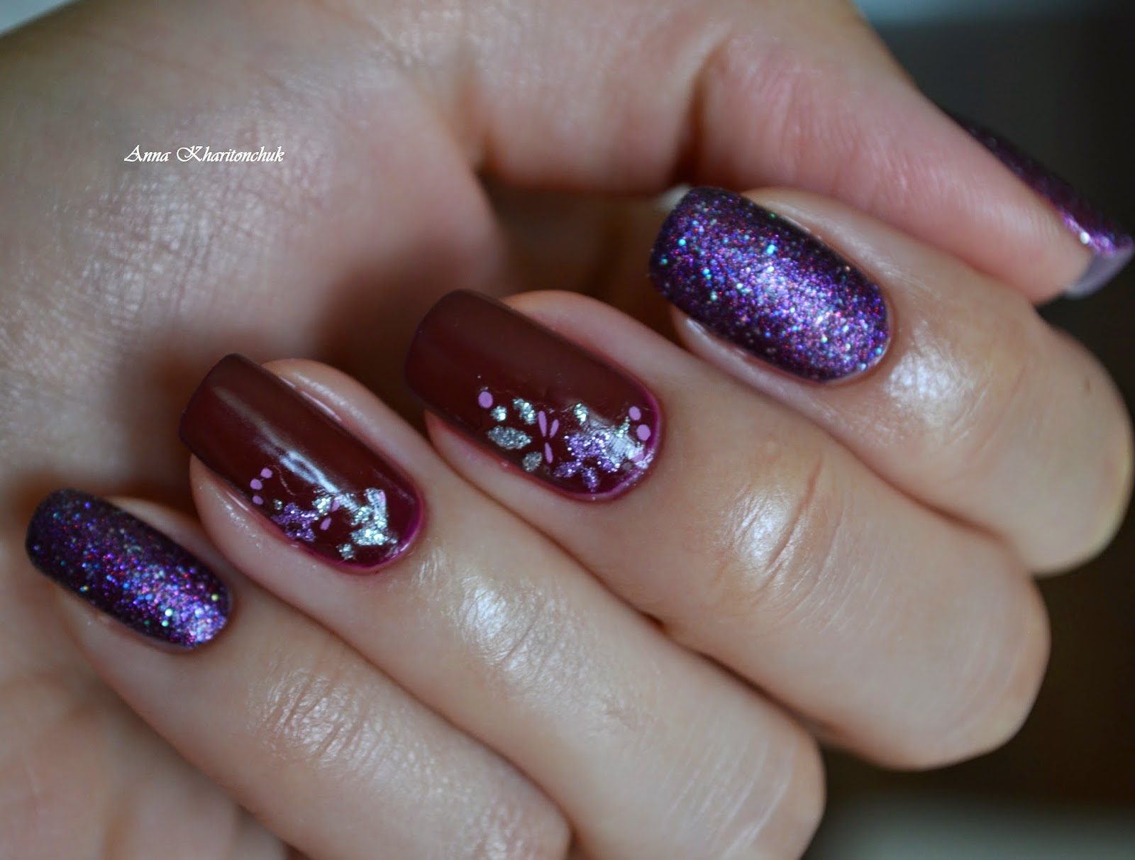 Дуэт Fennel Russian Secret # 115 и Color Club  Gift Of Sparkle