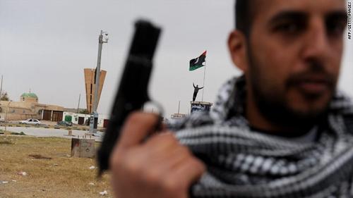 libya rebel is NATO