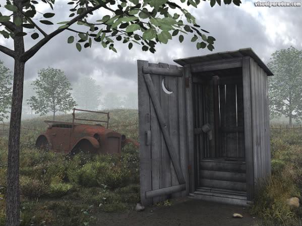 Puerta Baño Hacia Afuera:El baño afuera ~ Nuevo BlogOPina®