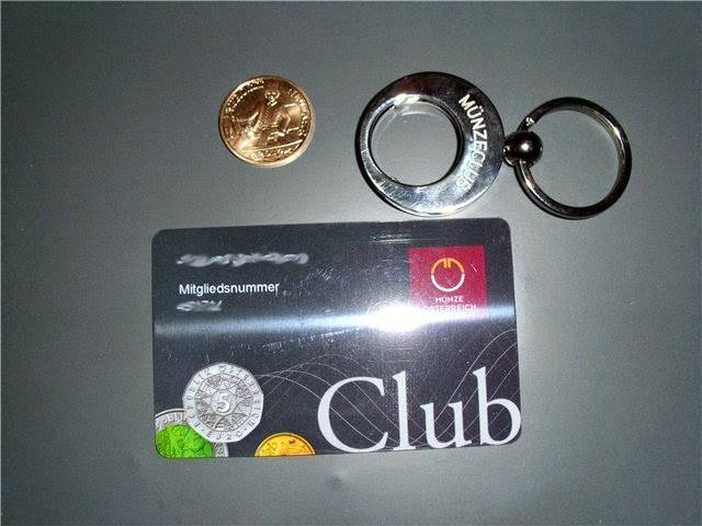 أحصل على علاقة مفاتيح و بطاقة وكتيب من muenzeoesterreich مجانا وحتى باب بيتك