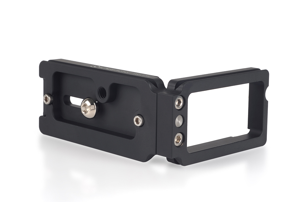 Sunwayfoto PSL-a7II L Bracket bottom and side plate view