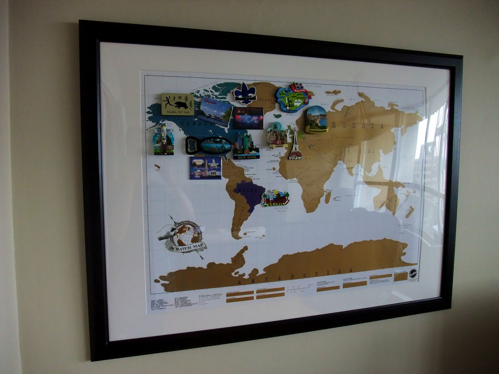 Hannah Wrapped Up: Scratch Map