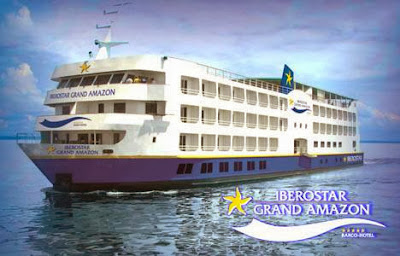 De crucero en el Iberostar Grand Amazon