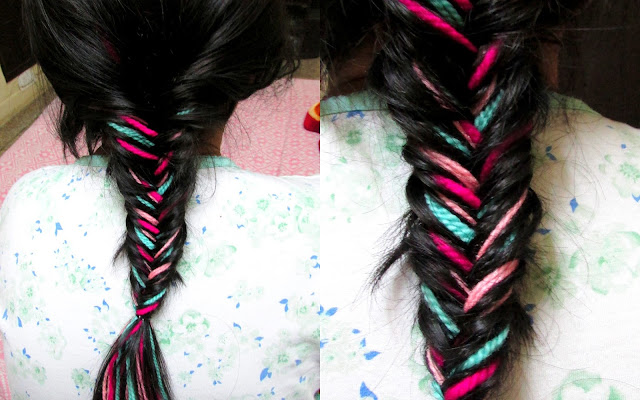 How to make fishtail braid, how to make inverse fishtail braid, how to make colourful braid, how to make colorful fishtail braid, how to make colorful braid, howvto make colorful inveirse fishtail braid, colorful braid, colorful fishtail braid,colorful inverse fishtail braid, hairstyles for long hair, easy hairstyles, easy hairstyles for long hair, colorful hair, color in hair , color your hair without any chemicals, chemical free hair color, chemical free colors for hair, artificial colors, artificial colors for hair, temporary colors for your hair, temporary colors for hair,easy hair color, color your hair, color your hair without chemical,color your hair without chemical colors, how to use wool, how to use yarn, how to use old yarn, how to use old wool, how to use wool for hair, how to use wool for hair color,uses of wool, uses of old wool, uses of warn, uses of old yarn,color hair with yarn, color hair with wool, color hair with old wool, color hair with old yarn, colorful yarn, colorful hair, hair, yarn , colorful wool, wool, old yarn, old wool, colorful old wool, colorful old yarn,colorful yarn in hair, colorful wool in hair, fishtail, fishtail braid, fishtail braid for long hair, inverse fishtail braid, inverse fishtail braid, inverse fishtail braid for long hair, colorful fishtail braid for long hair, colorful inverse fishtail braid for long hair, how to maintain long hair, how to maintain hair,How to make spiral staircase braid, how to make staircase braid , how to make braid, how to make staircase braid , how to make different kind of braids, how to make 3 strand braid, how to make 4strand braid, how to make 5 strand braid, how to make cobra braid , how to make fishtail braid, how to make inverse fishtail braid, how to make lace braid, how to make dutch braid, how to make french braid, how to make braid on long hair, how to make braid on short hair, how to make braid spiral braid , how to make spiral braid on ling hair, how to make spiral braid on short hair, DIY spiral braid, DIY spiral staircase braid, DIY spiral staircase braid on long hair, DIY cobra braid, DIY fishtail braid, DIY hairstyles, DIY  hairstyles for long hair, DIY hairstyles for short hair, DIY hairstyles for straight hair, DIY hairstyles for curly hair, DIY hairstyles for medium length hair, DIY no heat hairstyles, DIY no heat hairstyles for long hair, DIY no heat hairstyles for short hair, DIY no heat easy hairstyles, easy no heat hairstyles, easy no heat summer hairstyles, DIY no heat hairstyles, easy DIY no heat summer hairstyles, summer hairstyles, hairstyles for summer, easy hairstyles for summer, easy hairstyles for long hair, easy hairstyles for short hair, easy summer updos , easy no heat updos, updos for summers, updos for ling hair, updos for short hair, updoos for mediun hair, 3 minute hairstyles, 5 minutes hairstyles, 2 minutes hairstyles, under 2 minutes hairstyles, under 3 minutes hairstyles, under 5 minutes hairstyles, no heat hairstyles, no heat hair, no heat style,How to take care if hair, how to take care of long hair, how to take care of short hair , how to take care of medium hair, how to wash long hair , how to wash short hair, how to wash medium hair, how to get long hair, how to increase the growth if hair, how to get rid of split ends, how to cut split ends, how to cut split ends at home, how to shampoo hair, how to shampoo long hair, how to shampoo short hair, how to condition long hair, how to condition short hair,how to cut hair at home, how to stop hair fall, how to increase hair growth, how to reduce hair fall, how to improve the texture of hair, how to get soft hair, how to get silky hair, how to get smooth and silky hair, how to get beautiful hair, how to get long and beautiful hair, how to get shining hair, how to get smooth and shining hair,  How to maintain hair, how to maintain long hair, how to maintain short hair, how to maintain medium hair, how to maintain hair texture, how to get straight hair, hair care, hair cate tips, general hair care tips, hair care guidelines, general hair cate guide lines, hair , care, how to take care of hair, basic hair care tips, basic hair care guidelines, basic hair care, take care of your hair, stop hair fall, home remedies for hair care, home remedies for general hair care,How to get long hair , how to get strong hair, how to get long and strong hair, how to get shinny hair , how to condition hair, how to make hair shine, how to make hair strong, how to get strong hair, how to get strong and black hair, how to get strong and shinny hair, how to condition hair at hone, how to stop hair fall, how to reduce hair fall, how to get dandruff free hair, how to remove dandruff from hair, how to wash dandruff, how to get long hair fast, how to get strong jair fast, how to get black hair fast, how to treat dandruff at home , how to treat frizzy hair, how to treat rough hair, how to treat dead hair, how to get rid if frizzy hair, how to get rid of rough hair, how to get rid of dull hair, dull hair, frizzy hair, hair fall, hairfall, dandruff, dandruff in hair, dirty hair, falling hair, split ends, rough hair, strong hair, shinny hair, soft hair, long hair, healthy hair, how to make hair strong, how to make hair soft , how to make hair growth fast, how to get good hair, how to get beautiful hair, home remedies, home remedies for hair, home remedies for healthy hair , home remedies for smooth hair, home remedies for silky hair, home remedies for dandruff, home remedies for split ends, home remedies for dry hair, home remedies for hair fall, home remedies for hair fall, home remedies for dense hair, home remedies for thick hair, home remedies for black hair, home remedies for frizzy hair, hone remedies for rough hair , home remedies for oily hair, home remedies for rainy season, home remedies to increase hair growth, home remedies to increase hair strength, home remedies for strong hair, hair mask, home made hair mask, hair pack, home made hair pack, home made hair pack for frizzy hair, home made hair pack for thick hair, home made hair pack for smooth hair, curd for hair, curd pack for hair, curd hair pack, home made curd pack, home made curd hair pack, how to use curd for hair, how to use curd, how to use curd in hair, how to use curd pack, how to use curd hair pack, use curd in hair, use curd in hair for thick hair, uses of curd, uses of curd in hair, curd as a home remedy, use curd for soft hair, use curd for thick hair, use curd for long hair, use curd for dense hair, use curd for frizzy hair, use curd for hair fall, use curd for dandruff, use curd for healthy hair, use curd for  silky hair, use cured for long and strong hair, use curd as a conditioner, home made hair conditioner, home made conditioner, curd as home made conditioner, how to make conditioner, how to make home made hair conditioner, how to make conditioner at home, how to make conditioner,Home remedy for thick and smooth hair,beauty , fashion,beauty and fashion,beauty blog, fashion blog , indian beauty blog,indian fashion blog, beauty and fashion blog, indian beauty and fashion blog, indian bloggers, indian beauty bloggers, indian fashion bloggers,indian bloggers online, top 10 indian bloggers, top indian bloggers,top 10 fashion bloggers, indian bloggers on blogspot,home remedies, how to