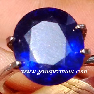 Batu Permata Natural Blue Safir