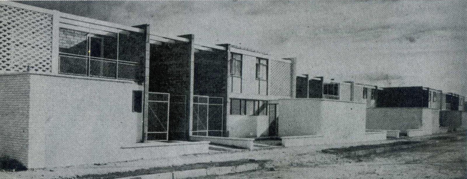 Historia de la arquitectura moderna barrio los alc zares for Historia de la arquitectura moderna