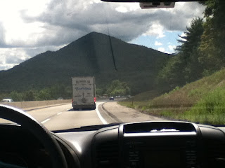 Lonely Mountain roadtrip