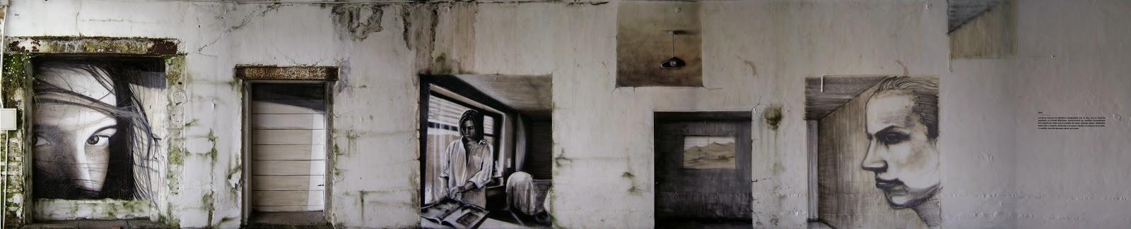izak one MACvaldivia streetart graffiti artist art chile museum museo otropais