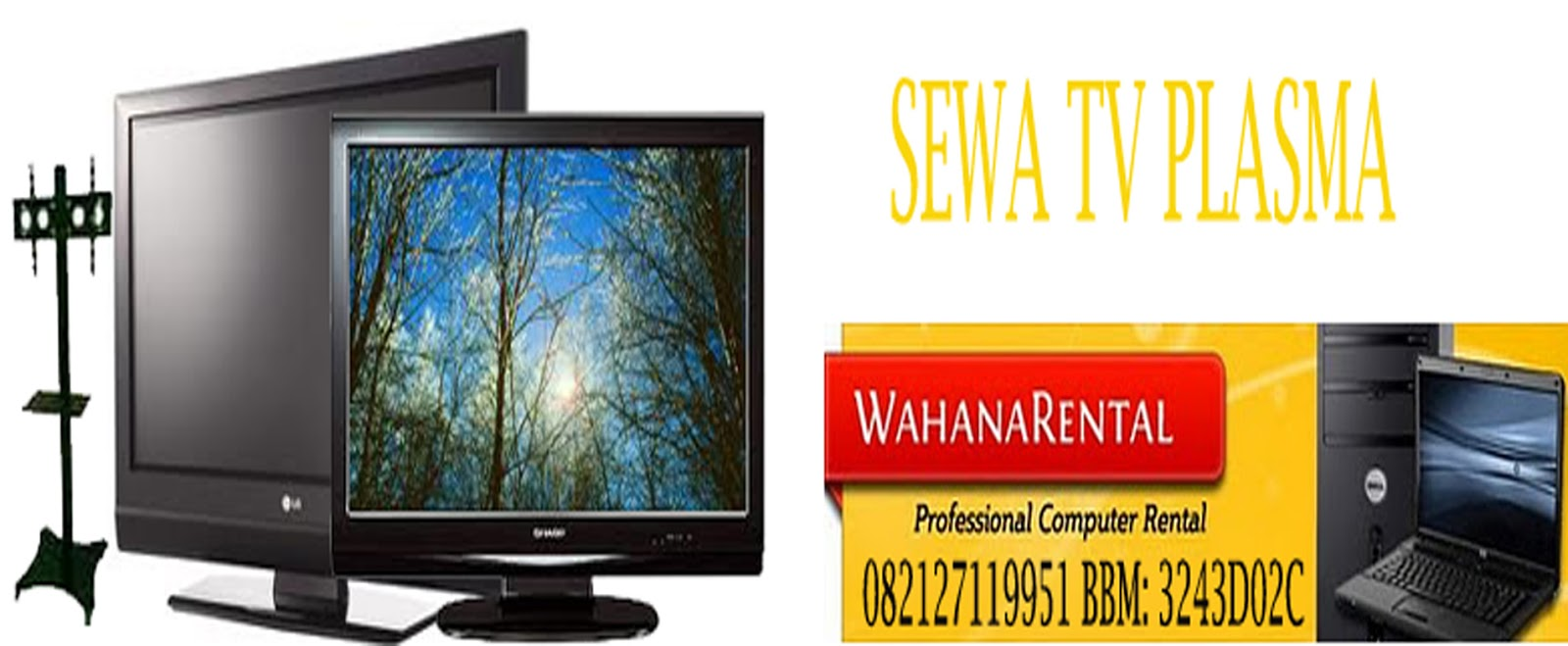 sewa tv plasma, rental tv plasma, sewa lcd tv, rental lcd tv