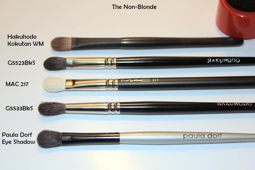 Hakuhodo G5523bks And G5533bksl Eye Shadow Brushes E1536