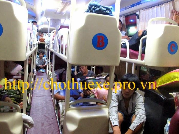 thuê xe giường nằm tại Hà Nội