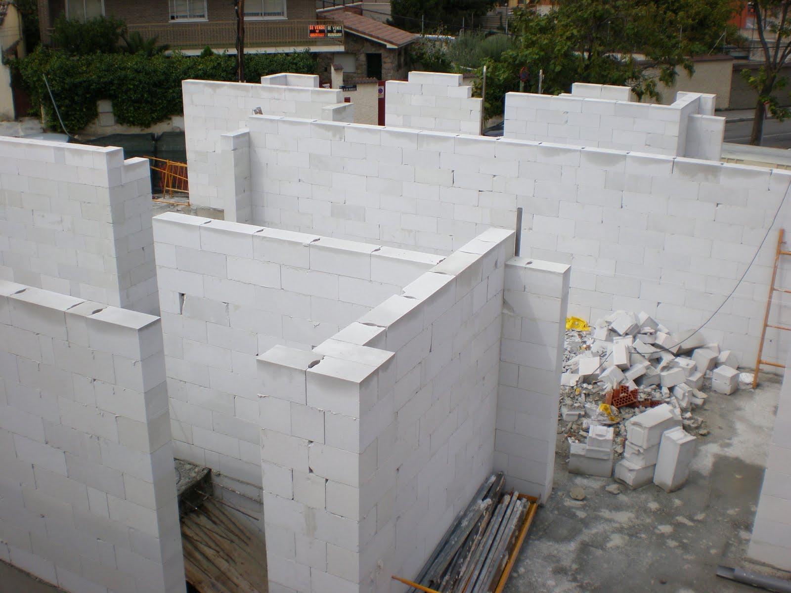 El maestro de obras xavier valderas los bloques hormig n - Ladrillos de hormigon ...