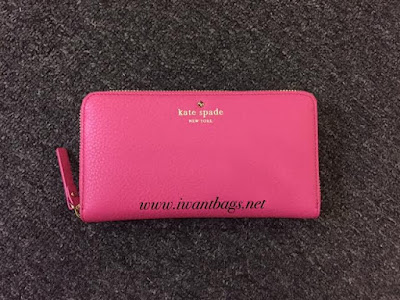 Kate Spade Cobble Hill Lacey Wallet- Strawfroyo