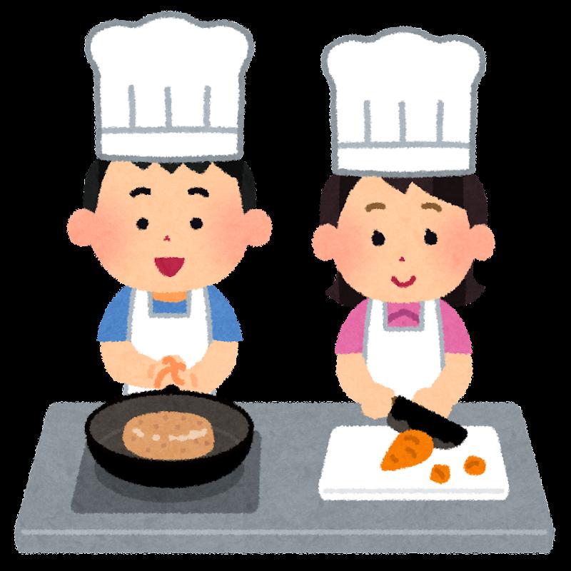 「料理教室 イラスト」の画像検索結果