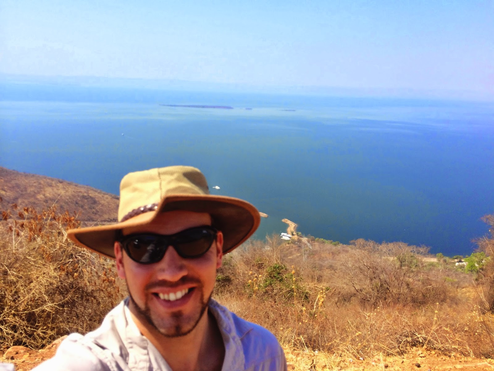 Simon at The Heights, Lake Kariba
