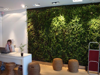Jardines verticales monterrey jardines verticales en interiores en oficinas excelente - Jardines verticales interiores ...