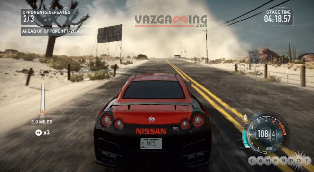 Need For Speed The Run Gameplay 1