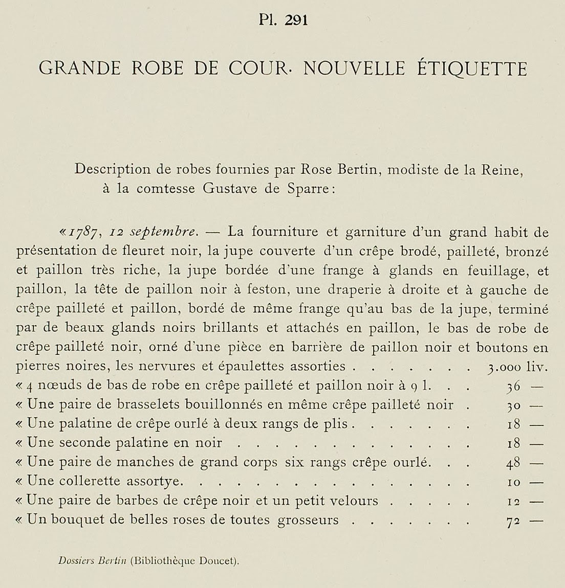 époustouflant Galerie des Modes, 2e Cahier de Grandes Robes d'Etiquette, 2e Figure #OU_97