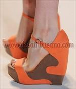 model tren sepatu