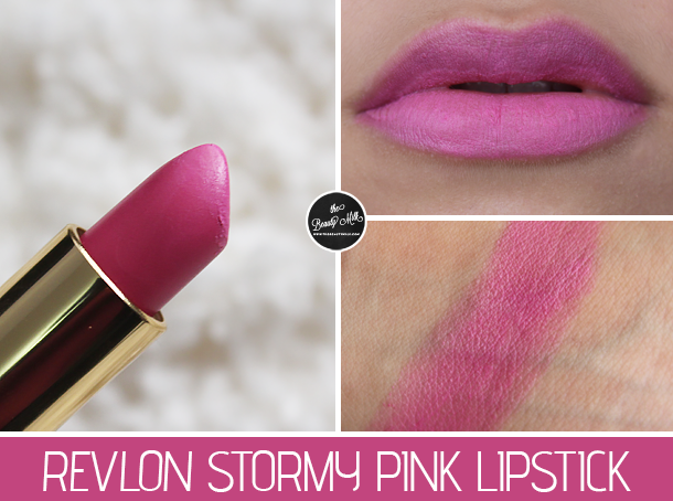 Review: Revlon Stormy Pink Lipstick | The Beauty Milk
