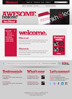 Net portfolio with beautiful typography