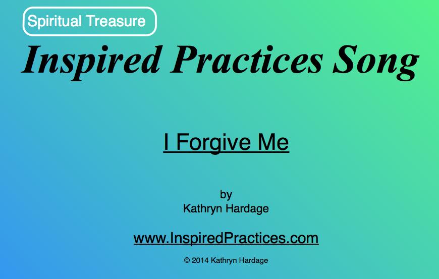 """I Forgive Me"" Song"