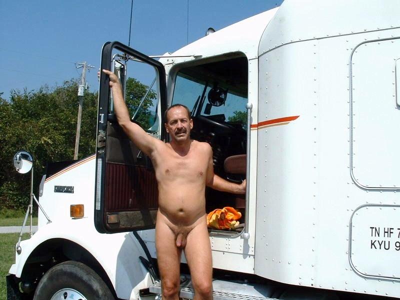 Naked Trucker Daddy