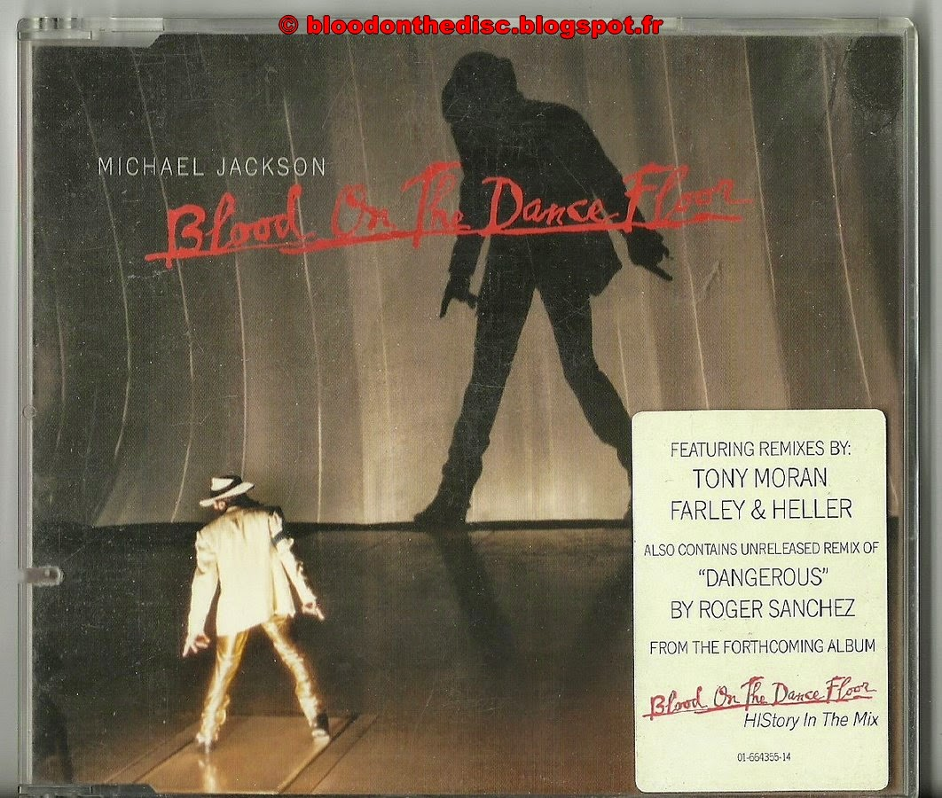 Blood On The Dancefloor Maxi CD Pochette