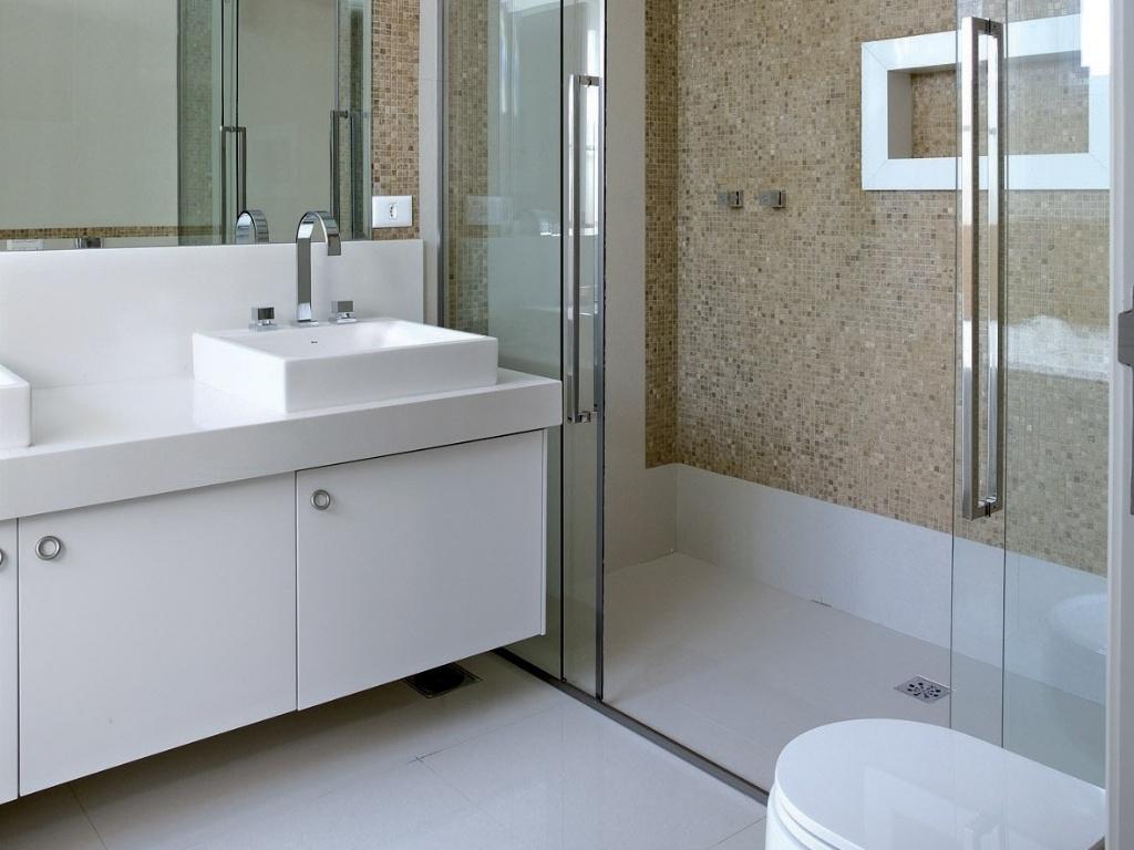 Casa Nova Inspiração para louça e decoração dos banheiros Adoro esse deta -> Nicho Banheiro Louca