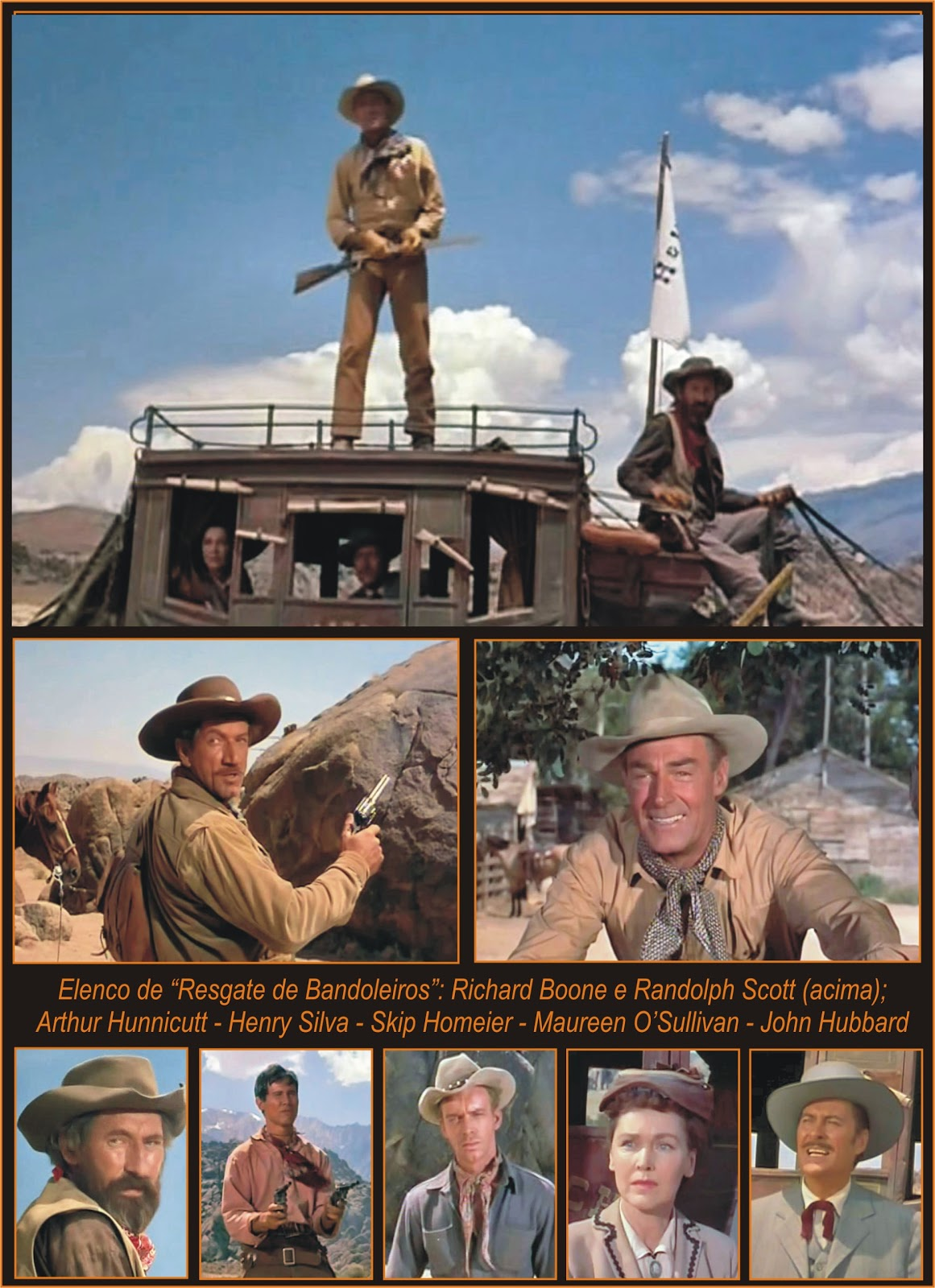 """Filme Resgate De Uma Vida throughout westerncinemania: """"resgate de bandoleiros"""" (the tall t) - opus 2"""