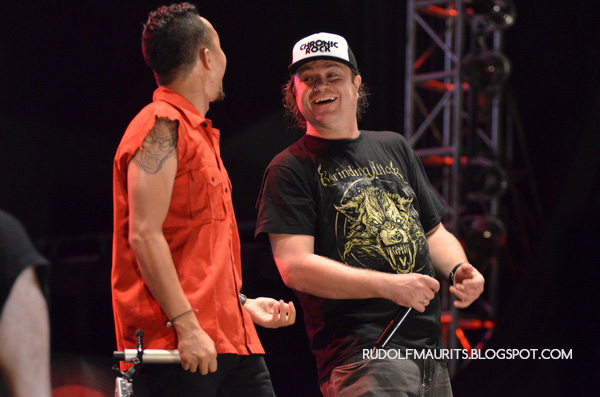 Burgerkill bersama Dom Lawson dari Metal Hammer