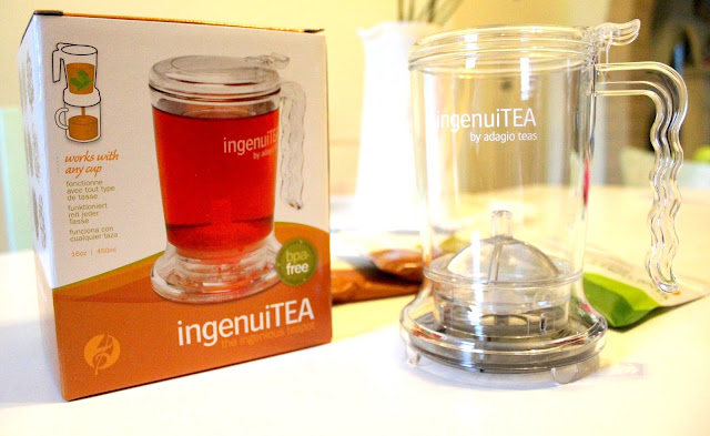 ingenuiTEA by Adagio Teas tea for one easy tea strainer