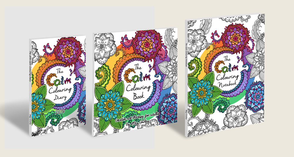 WIN The Calm Colouring Book Tips From Colour With Claire