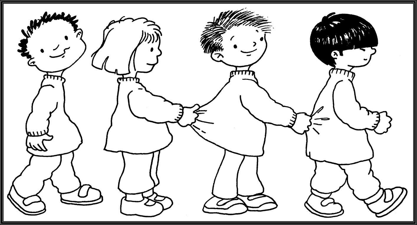 Dibujo De Persona En Fila