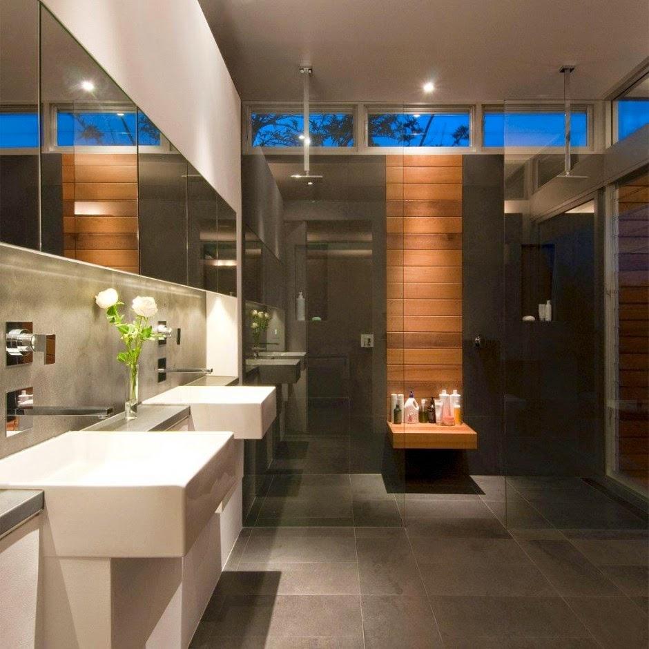 Home Design Ideas Bathroom: Banheiros Modernos - 19 Modelos. Confira!