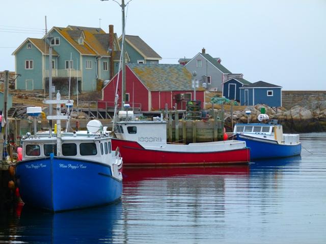 Elaine quehl nova scotia peggy 39 s cove for Nova scotia fishing