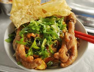 Mie Ayam Ceker
