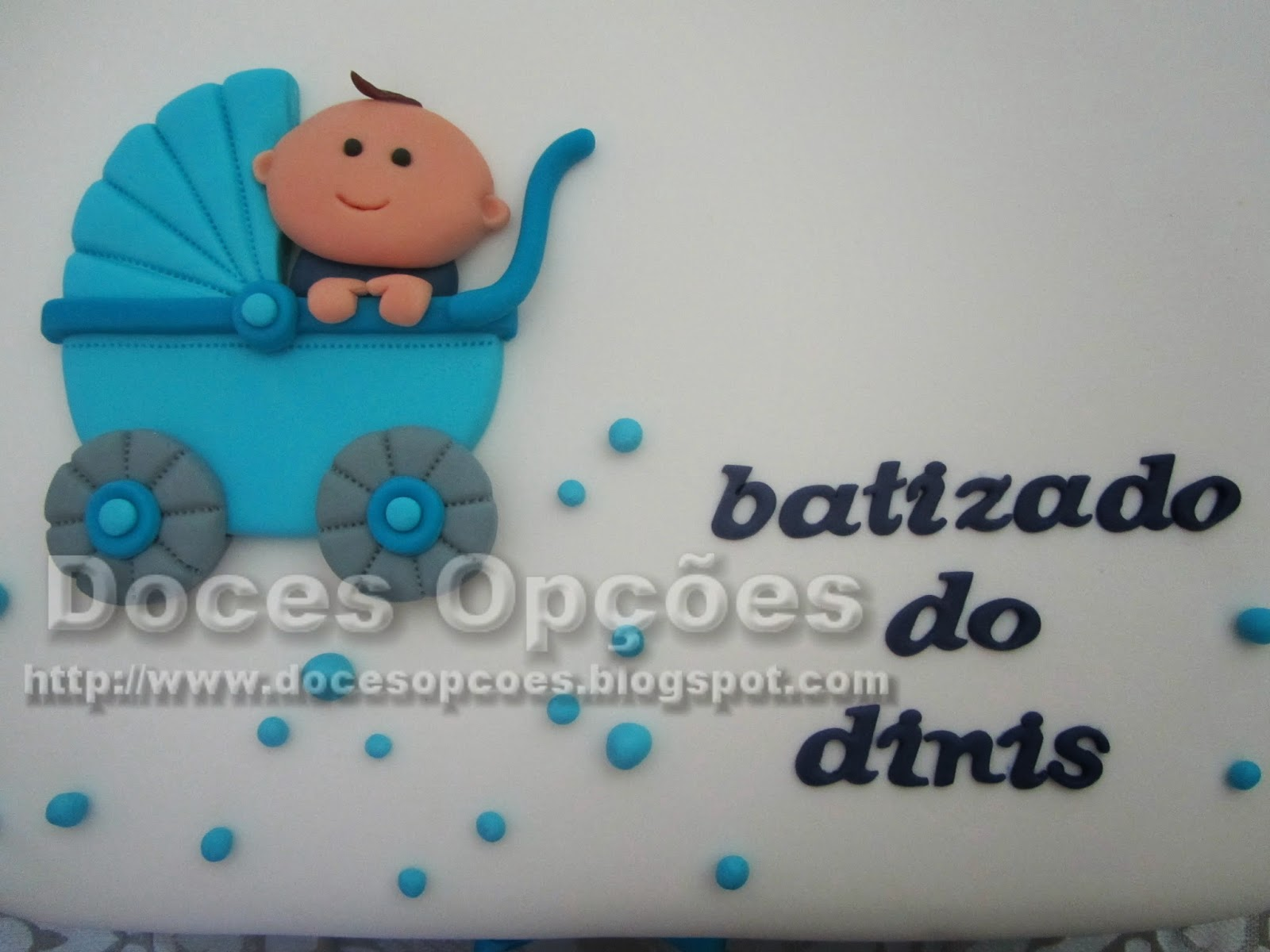 bayby sugar paste cake